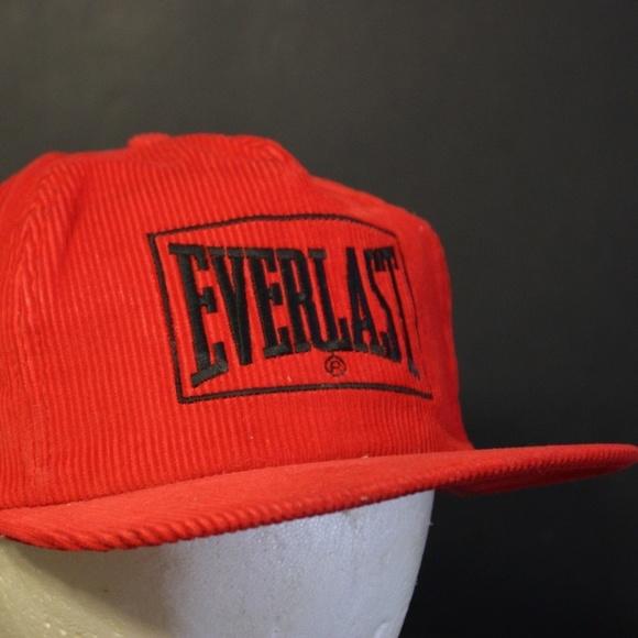cb9c5043c41 Everlast Other - Everlast Corduroy Trucker Hat Cap Snapback Retro